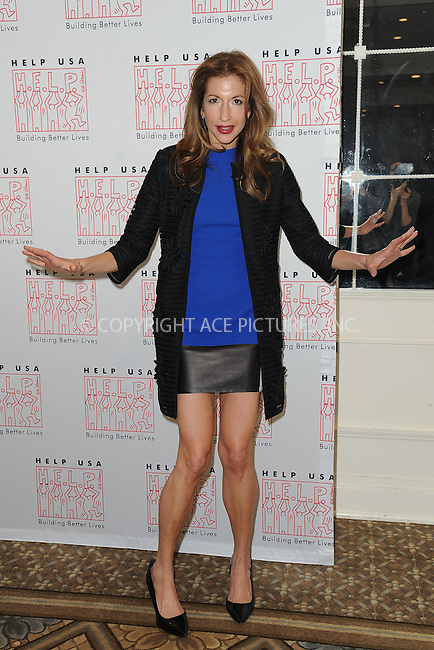 WWW.ACEPIXS.COM<br /> March 16, 2016 New York City<br /> <br /> Alysia Reiner  arriving to join HELP USA in celebrating survivors of domestic violence and homelessness at 2016 Scholarship Awards Luncheon on Wednesday, March 16, at The Plaza Hotel in New York City.<br /> <br /> Credit: Kristin Callahan/ACE Pictures<br /> Tel: (646) 769 0430<br /> e-mail: info@acepixs.com<br /> web: http://www.acepixs.com
