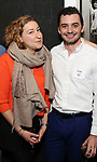 Sophie von Haselberg and Dustin Wills attends the Vineyard Theatre's Annual Emerging Artists Luncheon at The National Arts Club on June 6, 2017 in New York City.