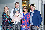 Lily O'Callaghan PArk Road Killarney celebrated her christening with her parents Stephen and Niamh O'Callaghan  and god parents Michelle O'Callaghan and Jason O'Brien on Saturday