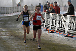 February 10, 2007:  Master's Women 1st and 2nd place finishers, Patty Murray and Michelle Simonatitis at the 2007 U.S. Cross Country Championships in Boulder, CO.