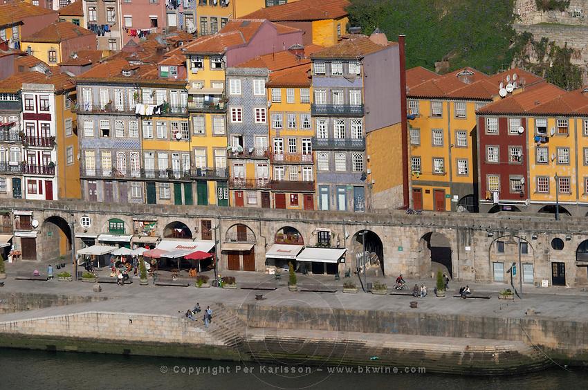 cais da ribeira porto portugal