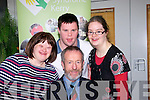 Education<br /> At the launch of the Latch-On post graduate course at IT Tralee last Friday afternoon was Sean Kelly,MEP,seated with L-R Sinead Joy,Cathal Griffin and Martina McCarthy.