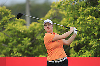 Caroline Masson (GER) in action on the 3rd during Round 2 of the HSBC Womens Champions 2018 at Sentosa Golf Club on the Friday 2nd March 2018.<br /> Picture:  Thos Caffrey / www.golffile.ie<br /> <br /> All photo usage must carry mandatory copyright credit (&copy; Golffile | Thos Caffrey)