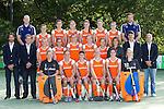 2010 Ned. Dames teamfoto voor WK