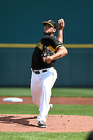 Pittsburgh Pirates pitcher Deolis Guerra (64) during the Black & Gold intrasquad game on March 2, 2015 at McKechnie Field in Bradenton, Florida.  (Mike Janes/Four Seam Images)