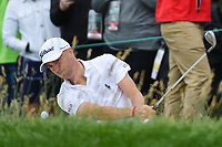 Justin Thomas (USA) chips on to 6 during round 2 of the 2019 US Open, Pebble Beach Golf Links, Monterrey, California, USA. 6/14/2019.<br /> Picture: Golffile | Ken Murray<br /> <br /> All photo usage must carry mandatory copyright credit (© Golffile | Ken Murray)