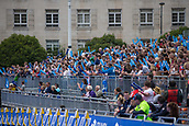 June 11th 2017, Leeds, Yorkshire, England; ITU World Triathlon Leeds 2017; A large crowd watch the days events