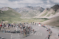 grupetto up the highest point in the 2017 TdF: The Galibier (HC/2642m/17.7km/6.9%)<br /> <br /> 104th Tour de France 2017<br /> Stage 17 - La Mure › Serre-Chevalier (183km)
