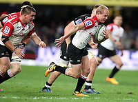 Ross Cronje of the Emirates Lions during the Vodacom Super Rugby match between the Cell C Sharks and the Emirates Lions the at Growthpoint Kings Park in Durban, South Africa. 15th July 2017(Photo by Steve Haag)