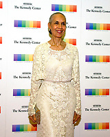 Carmen de LaVallade arrives for the formal Artist's Dinner honoring the recipients of the 40th Annual Kennedy Center Honors hosted by United States Secretary of State Rex Tillerson at the US Department of State in Washington, D.C. on Saturday, December 2, 2017. The 2017 honorees are: American dancer and choreographer Carmen de Lavallade; Cuban American singer-songwriter and actress Gloria Estefan; American hip hop artist and entertainment icon LL COOL J; American television writer and producer Norman Lear; and American musician and record producer Lionel Richie. Photo Credit: Ron Sachs/CNP/AdMedia