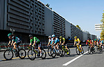 Daniel Oss (ITA) and Peter Sagan (SVK) Bora-Hansgrohe during the 2018 Shanghai Criterium, Shanghai, China. 17th November 2018.<br /> Picture: ASO/Alex Broadway | Cyclefile<br /> <br /> <br /> All photos usage must carry mandatory copyright credit (&copy; Cyclefile | ASO/Alex Broadway)