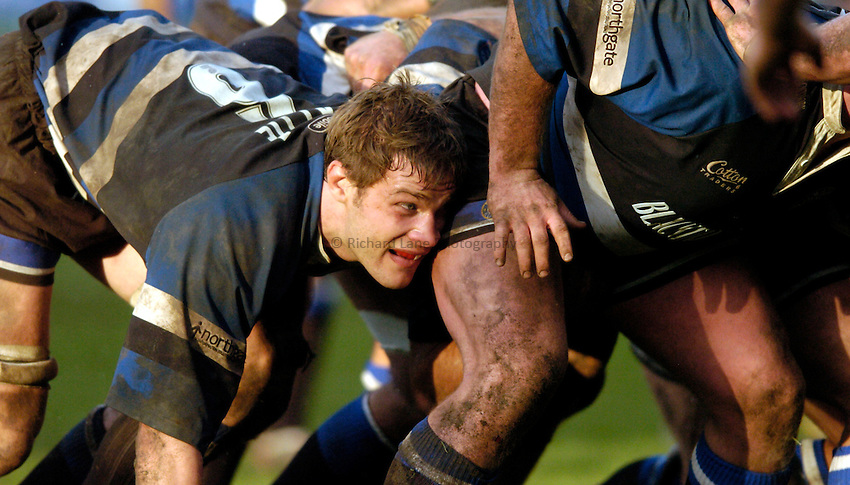 Photo: Richard Lane..Bath Rugby v London Wasps. Zurich Premiership..07/02/2004..Andy Beattie.