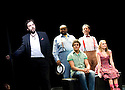 The Fantasticks.With Hadley Fraser as El Gallo,Clive Rowe as Hucklebee, Luke Brady as Matt,David Burt as Bellomy,Lorna Want as Luisa. opens at The Duchess Theatre on 9/6/10 Credit Geraint Lewis