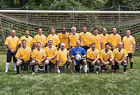 Master division amateur soccer team.
