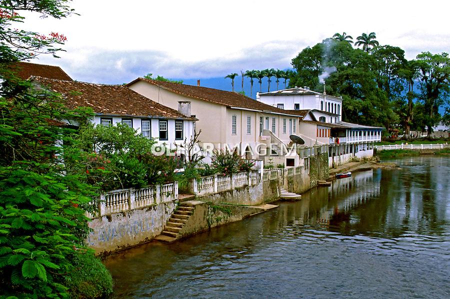 Cidade de Morretes no Paraná. 1995. Foto de Juca Martins.