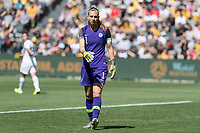 9th November 2019; Bankwest Stadium, Parramatta, New South Wales, Australia; International Womens Friendly Football, Australia versus Chile; Christiane Endler of Chile sets up for a goal kick - Editorial Use