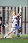 Santa Barbara, CA 04/16/16 - Peter Brydon (UCSB #30) in action during the final regular MCLA SLC season game between Chapman and UC Santa Barbara.  Chapman defeated UCSB 15-8.