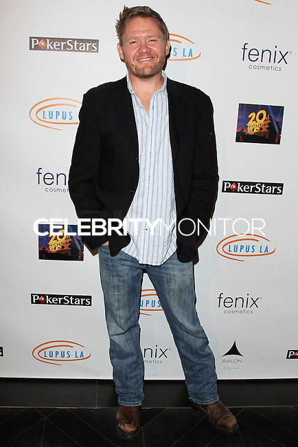 HOLLYWOOD, LOS ANGELES, CA, USA - SEPTEMBER 18: Scott Campbell arrives at the 'Get Lucky For Lupus' 6th Annual Poker Tournament held at Avalon on September 18, 2014 in Hollywood, Los Angeles, California, United States. (Photo by Celebrity Monitor)