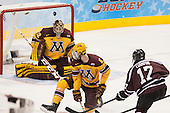 Adam Wilcox (MN - 32), Mike Reilly (MN - 5), Daniel Ciampini (Union - 17) - The Union College Dutchmen defeated the University of Minnesota Golden Gophers 7-4 to win the 2014 NCAA D1 men's national championship on Saturday, April 12, 2014, at the Wells Fargo Center in Philadelphia, Pennsylvania.