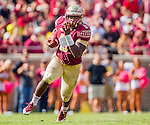 Florida State running back Jacques Patrick runs in the second half of an NCAA college football game against Syracuse in Tallahassee, Fla., Saturday, Oct. 31.  Florida State defeated Syracuse 45-21. (AP Photo/Mark Wallheiser)