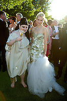Beth Ditto and Naomi Watts at Elton John's White Tie and Tiara Ball