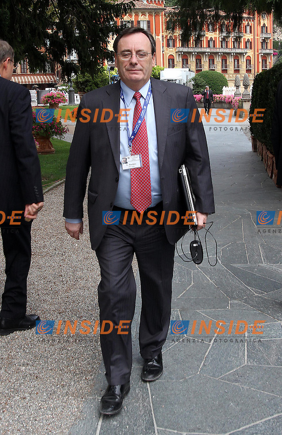 Il presidente di 3M GEORGE BUCKLEY<br /> Cernobbio 03/09/2010 Workshop Ambrosetti<br /> ALBERTO CAMICI / INSIDEFOTO