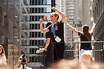 10 July 2015: Meghan Klingenberg. The United States Women's National Team was honored with a parade down New York City's Canyon of Heroes for winning the FIFA 2015 Women's World Cup in Canada.