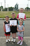 Craig Sheridan, Karl Leonard, Josephine O'Brien and Kathleen O'Brien at the Moneymore After School Club Awards...Photo NEWSFILE/Jenny Matthews.(Photo credit should read Jenny Matthews/NEWSFILE)....This Picture has been sent you under the condtions enclosed by:.Newsfile Ltd..The Studio,.Millmount Abbey,.Drogheda,.Co Meath..Ireland..Tel: +353(0)41-9871240.Fax: +353(0)41-9871260.GSM: +353(0)86-2500958.email: pictures@newsfile.ie.www.newsfile.ie.FTP: 193.120.102.198.