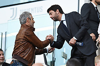 Andrea Agnelli-Maurizio Arrivabene<br /> Torino 30-03-2019 Allianz Stadium <br /> Football Serie A 2018/2019 Juventus - Empoli <br /> Photo  Daniele Buffa / Image Sport / Insidefoto