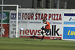 UCD Goalie Gerard Bannon as Drogheda Utd V UCD in the Airtricity League. (result UCD 1 Drogheda Utd 0)..(Photo credit should read Jenny Matthews/www.newsfile.ie)....This Picture has been sent you under the conditions enclosed by:.Newsfile Ltd..The Studio,.Millmount Abbey,.Drogheda,.Co Meath..Ireland..Tel: +353(0)41-9871240.Fax: +353(0)41-9871260.GSM: +353(0)86-2500958.email: pictures@newsfile.ie.www.newsfile.ie.