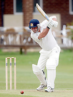 James McMahon bats for South Hampstead during the Middlesex County Cricket League Division Two game between North Middlesex and South Hampstead at Park Road, Crouch End on Saturday June 12, 2010