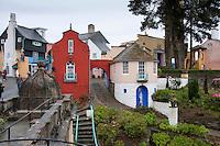 Portmeirion, Porthmadog, Gwynedd.  Lleyn Peninsula.