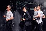 B&Ecirc;TES DE SCENE<br /> <br /> chor&eacute;graphie Jean-Christophe Bleton <br /> assist&eacute; de Marina Chojnowska<br /> avec Lluis Ayet, Yvon Bayer, Jean-Christophe Bleton, Jean-Philippe Costes-Muscat, Jean Gaudin, Vincent Kuentz, Gianfranco Poddhige.<br /> sc&eacute;nographie Olivier Defrocourt <br /> cr&eacute;ation sonore Marc Piera.<br /> Compagnie Les Orpailleurs<br /> Date : 17/02/2016<br /> Lieu : Micadanses<br /> Ville : Paris<br /> &copy; Laurent Paillier / photosdedanse.com
