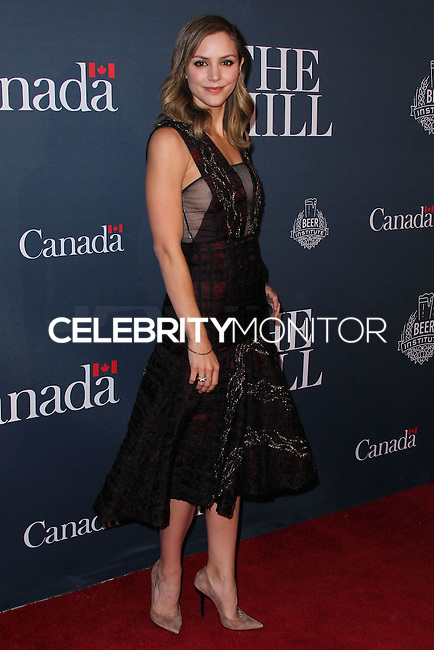 WASHINGTON D.C., USA - MAY 02: Katharine McPhee at The Hill and Entertainment Tonight Celebrate The White House Correspondents' Dinner Weekend held at the Embassy of Canada on May 2, 2014 in Washington D.C., United States. (Photo by Xavier Collin/Celebrity Monitor)