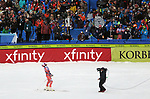 December 1, 2017:  Norway's, Kjetil Jansrud #15, celebrates his second place finish in the Super G competition during the FIS Audi Birds of Prey World Cup, Beaver Creek, Colorado.