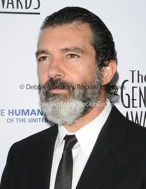 Antonio Banderas   at the The 24th Genesis Awards.Presented by The Hollywood Office of The Humane Society of the United States held at The Beverly Hilton Hotel in Beverly Hills, California on March 20,2010                                                                   Copyright 2010  DVS / RockinExposures..