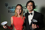 Margot Williams and Jon Grayson at Martini Madness at the Center for Contemporary Craft Thursday Jan. 22,2015.(Dave Rossman For the Chronicle)
