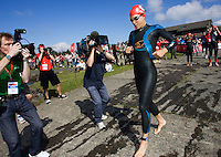 26 JUL 2008 - TREDEGAR, UK - Hollie Avil - British Elite Triathlon Championships. (PHOTO (C) NIGEL FARROW)