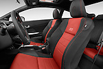 Front seat view of a 2015 Honda Civic Si Coupe SI 2 Door  Front Seat car photos