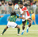 Lote Tuqiri (JPN), AUGUST 11, 2016 - Rugby : Men's bronze medal match between Japan 14- 54 South Africa at Deodoro Stadium during the Rio 2016 Olympic Games in Rio de Janeiro, Brazil. (Photo by Enrico Calderoni/AFLO SPORT)