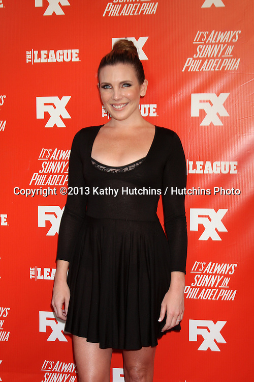 "LOS ANGELES - SEP 3:  June Diane Raphael at the FXX Network Launch Party And Premieres For ""It's Always Sunny In Philadelphia"" And ""The League"" at the Lure on September 3, 2013 in Los Angeles, CA"