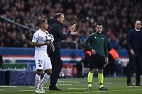6th November 2019, Paris France; UEFA Champions league football, Paris St German versus Brugges;   THOMAS TUCHEL TRAINER PSG