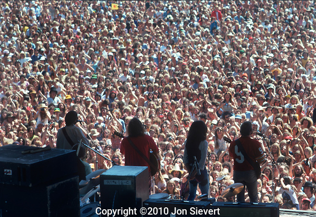 Crosby, Stills, Nash and Young, July 1974, Day on the Green, Oakland, CA