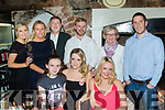30 Rocks<br /> ------------<br /> Jacinta O'Leary, Tralee, sits between Bella Madden (Lt) and Lisa O'Leary during the celebration of her 30th birthday last Saturday night in Finnegan's, Tralee, back L-R Ann Marie Blennerhassit, Caroline Madden, Denis, Rob&amp;Mary O'Leary with Brian Murphy.
