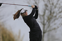 Chloe Haesler (England) during the second round of the Irish Girls' Open Stroke Play Championship, Roganstown Golf Club, Swords, Ireland. 14/04/2018.<br /> Picture: Golffile | Fran Caffrey<br /> <br /> <br /> All photo usage must carry mandatory copyright credit (&copy; Golffile | Fran Caffrey)
