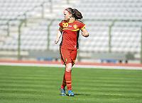 Belgium U19 - Ukraine U19 : <br /> <br /> Belgium U19 : Tine De Caigny<br /> <br /> foto Dirk Vuylsteke / Nikonpro.be