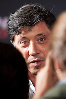 "Spanish director   Carlos Bardem  during the ""Alacran Enamorado"" Premiere in Madrid at the Callao Cinema"