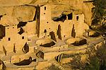 Cliff Palace ruins..Mesa Verde National Park, Colorado