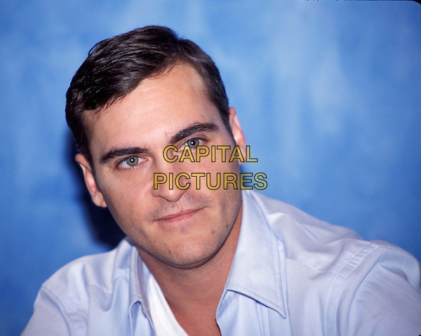 JOAQUIN PHOENIX.Ref: ND.headshot, portrait.*RAW SCAN - photo will be adjusted for publication*.www.capitalpictures.com.sales@capitalpictures.com.© Capital Pictures.