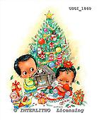 GIORDANO, CHRISTMAS CHILDREN, WEIHNACHTEN KINDER, NAVIDAD NIÑOS, paintings+++++,USGI1860,#XK#